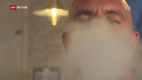 Video «FOKUS: Grosse Studie zu E-Zigaretten läuft» abspielen