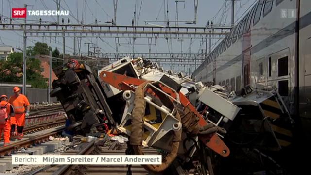Zugunfall in Oerlikon