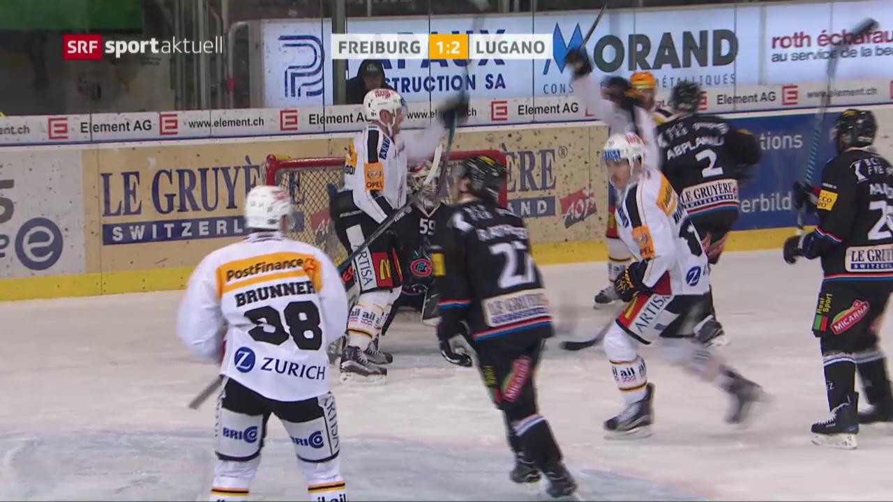 Freiburg verliert auch gegen Lugano