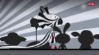 Laschar ir video «La zebra stilista»