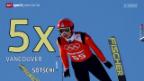 Video «Skispringen: Statistiken zu Ammanns Karriere» abspielen