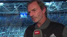 Video «Tennis: US Open 2015, Halbzeitfazit Heinz Günthardt: «Federer hat bisher das beste Tennis von allen gezeigt»» abspielen