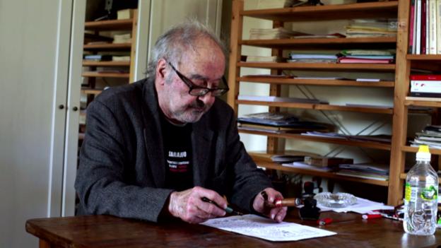 Video «Ehrenpreis: Jean-Luc Godard» abspielen