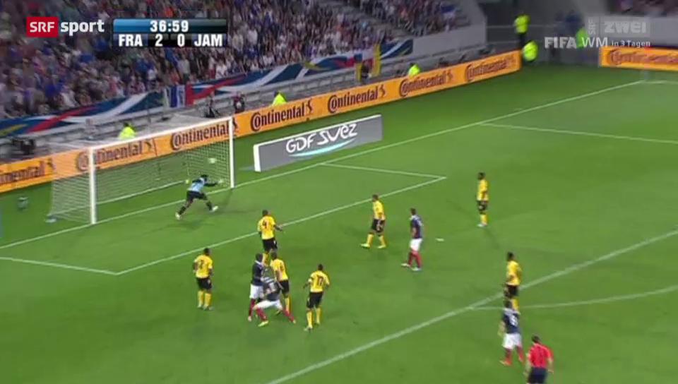 WM: Frankreich mit Kantersieg gegen Jamaika