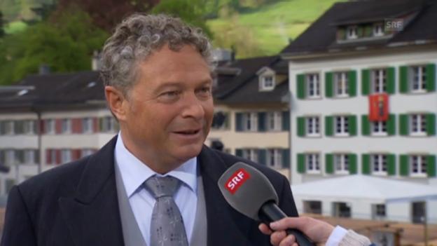 Video «Andrea Bettiga, Landammann GL/FDP» abspielen