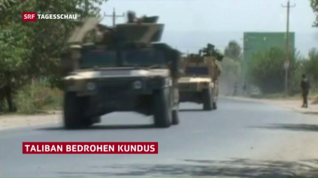 Video «Taliban bedrohen Stadt Kundus» abspielen