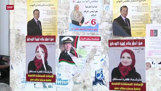 Video «Libyen vor den 2. freien Wahlen» abspielen