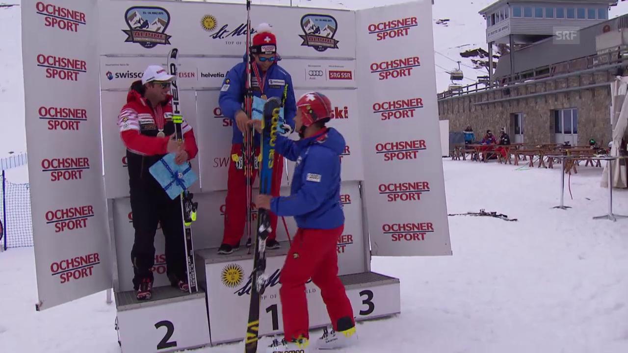 Ski: Schweizer Meisterschaften, Abfahrt Männer