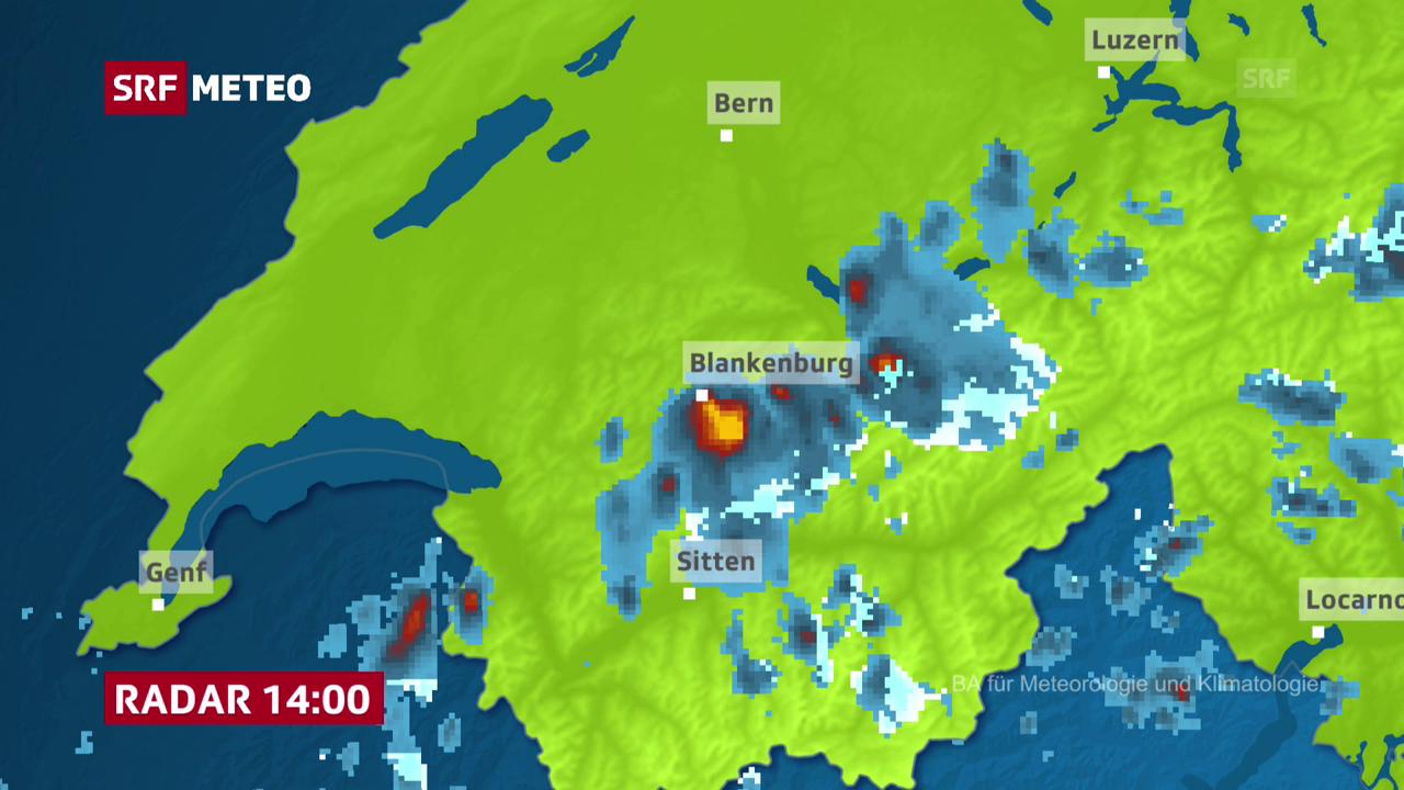 Radar Blankenburg, Zweisimmen/BE
