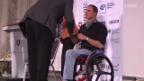 Video «Paralympics: Ehrung der Athleten» abspielen