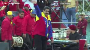 Video «Wahlen in Venezuela: Chavez' Erben bangen» abspielen