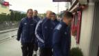 Video «Fussball: Tuggen vor dem Basel-Match» abspielen