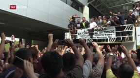 Video «Brasilien – Bolsonaro gibt sich siegessicher» abspielen
