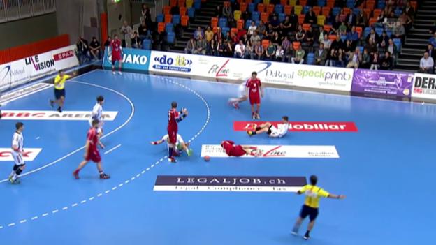 Video «Handball: Schweiz unterliegt Tschechien» abspielen