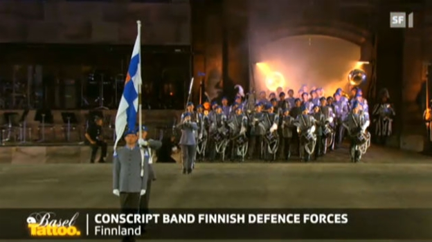 Video «Conscript Band Finnish Defence Forces» abspielen