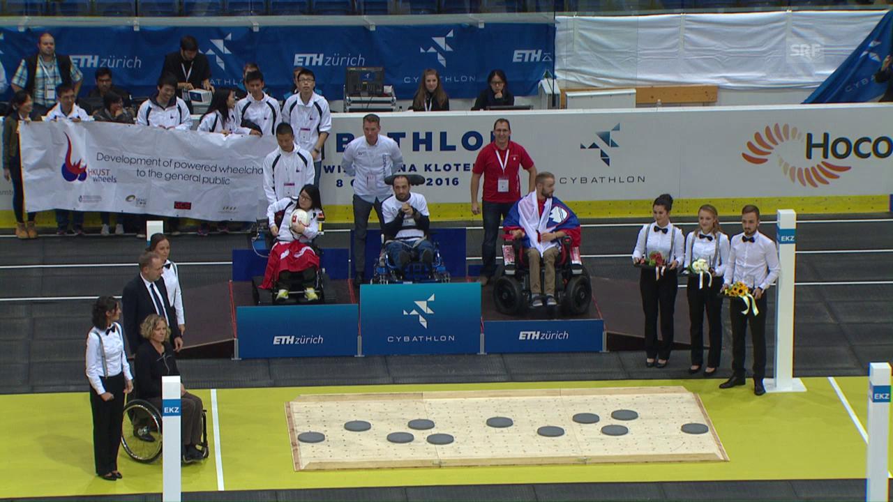 Gold für Schweizer Rollstuhl-Team