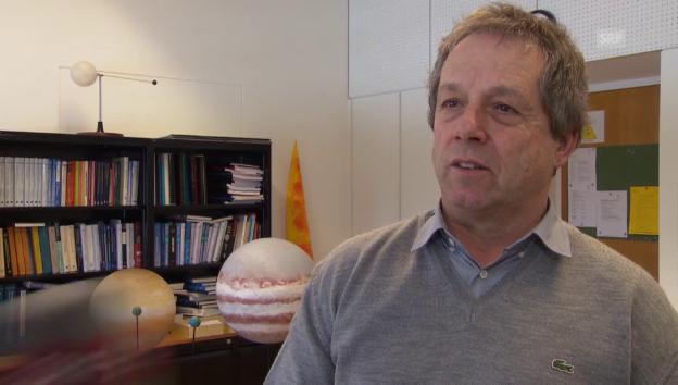Video «Wie wahrscheinlich ist der 9. Planet? Astrophysiker Willy Benz im Interview» abspielen