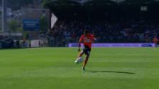 Link öffnet eine Lightbox. Video Torres' Volley mitten in Sions Herz abspielen