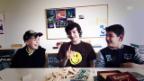 Video «Simone (11), Ariele (11) und Kilian (11) aus Riva San Vitale» abspielen