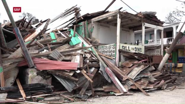 Video ««Matthew» zerstört grosse Teile Haitis» abspielen