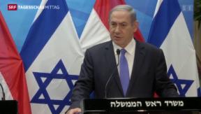 Video «Heftiger Protest aus Israel » abspielen