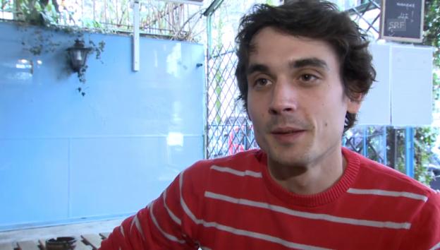 Video «Baptiste Gilliéron über seine Beziehung zu Lauriane» abspielen