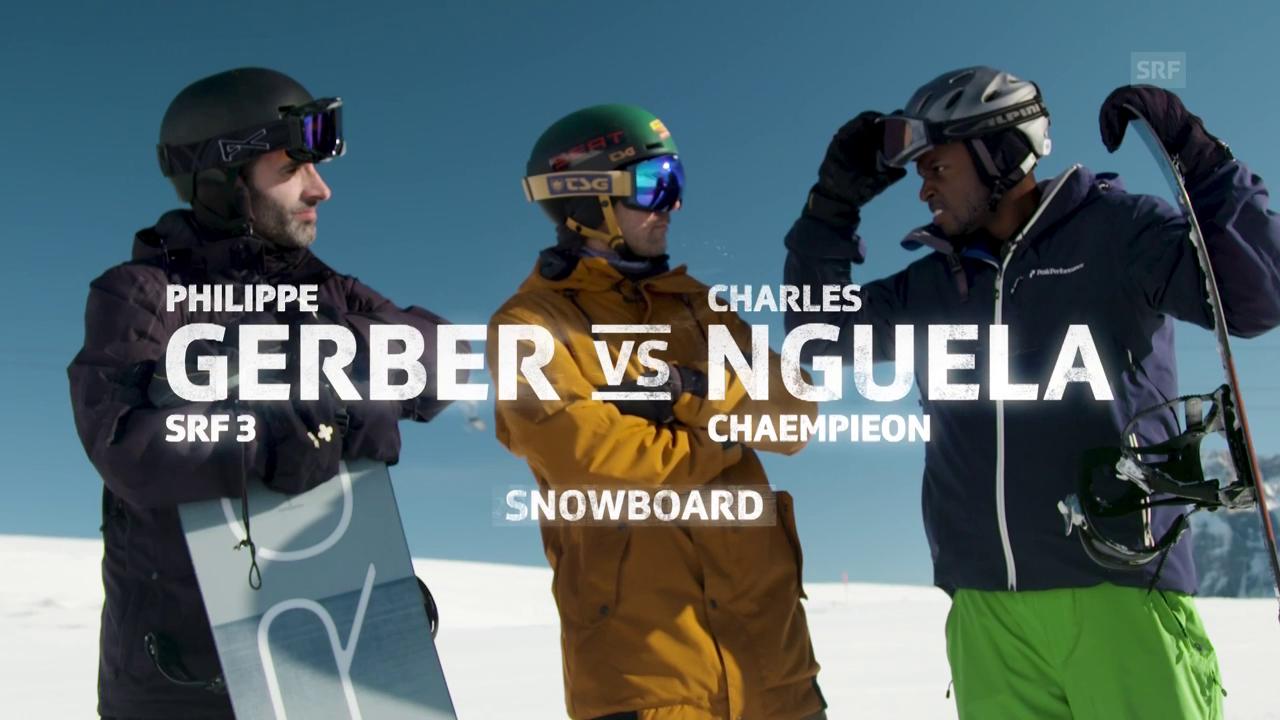Gerber vs. Nguela im Snowboard