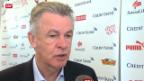 Video «Fussball: Ottmar Hitzfelds Aufgebot für Island und Norwegen» abspielen