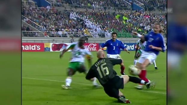 Video «Fussball-WM: Eröffnungsspiele - eine torarme Geschichte» abspielen