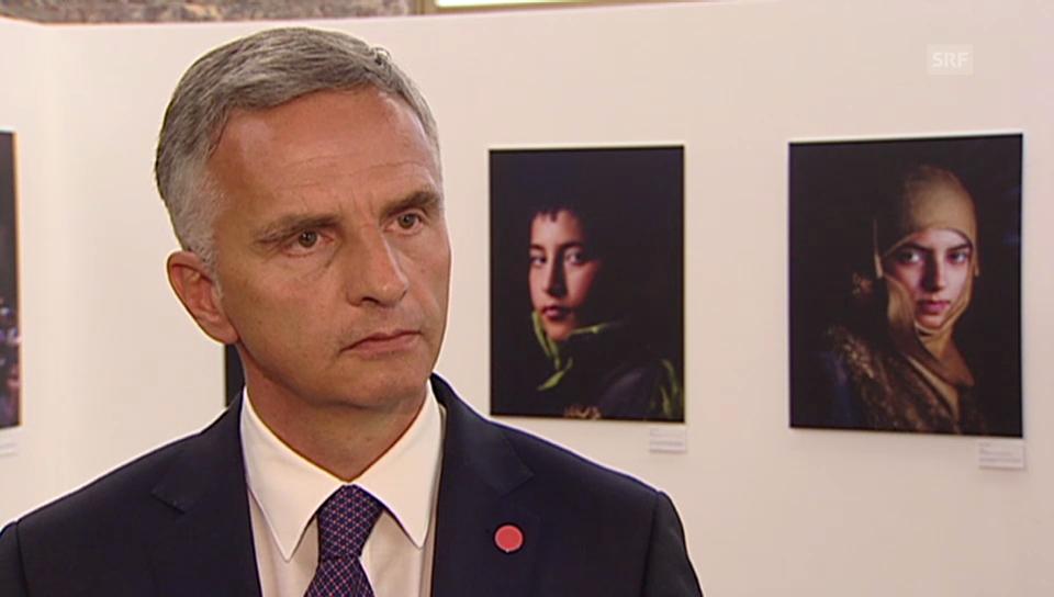 Die Schweiz will vor allem vor Ort Hilfe leisten
