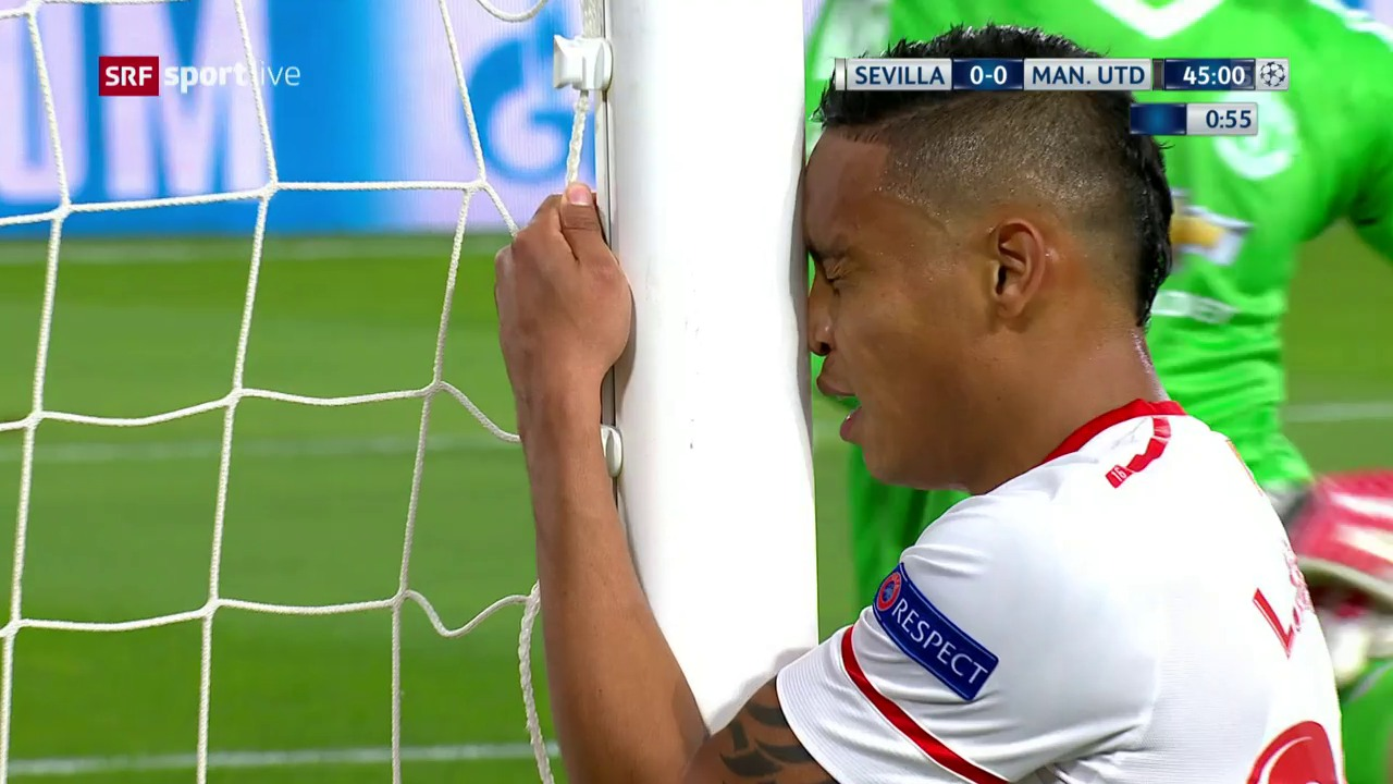 Alle sehen den Ball drin – nur De Gea hat etwas dagegen