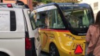 Video «Versuch mit chauffeurlosem Postauto gestoppt» abspielen