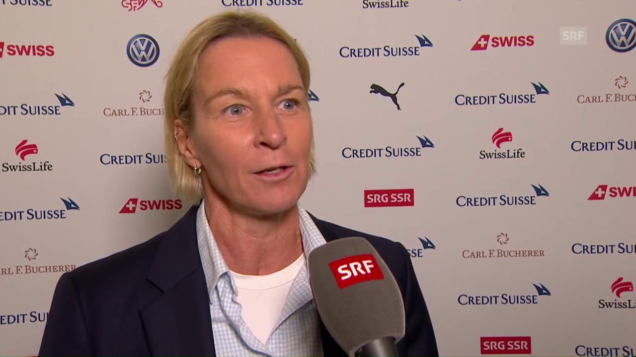 Nati-Trainerin Voss-Tecklenburg: «Das ist historisch»
