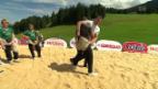 Video «Schwingerkönig: Im Sägemehl mit Matthias Sempach» abspielen