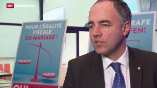 Video «CVP weibelt gegen «Heiratsstrafe»» abspielen
