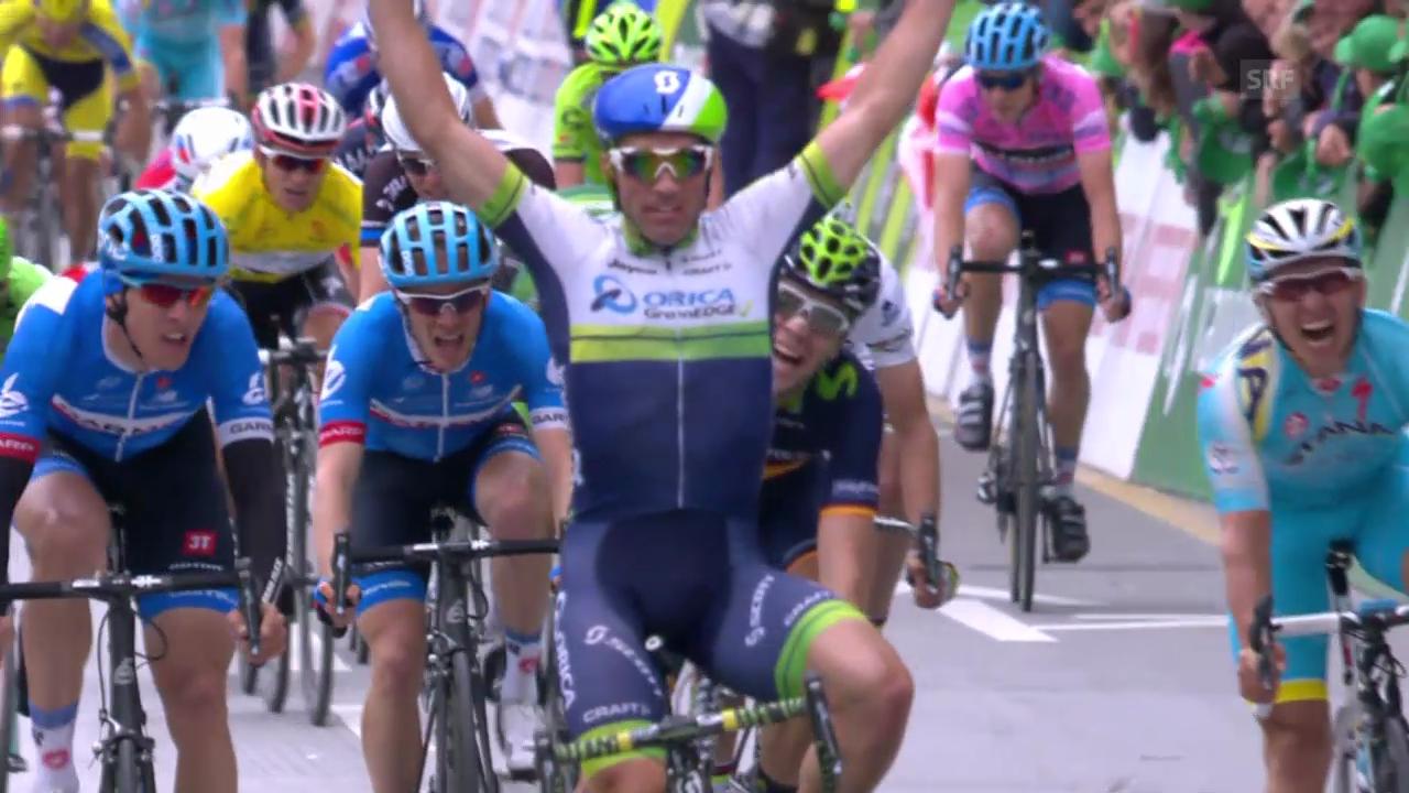 Rad: Tour de Romandie, 1. Etappe