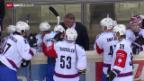 Video «Eishockey: Champions League, Vienna - ZSC» abspielen