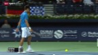 Video «Tennis: ATP Dubai, Djokovic - Berdych» abspielen