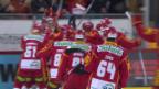 Video «Die SCL Tigers gewinnen den Playout-Final gegen Biel» abspielen