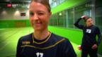 Video «Handballerin Nicole Dinkel ist auf Erfolgskurs» abspielen