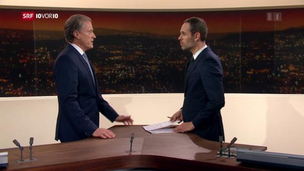 Video «FOKUS: Studiogespräch mit Konzernchef Herbert Bolliger» abspielen