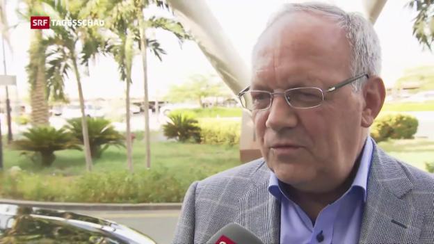 Video «Schneider-Ammann in Riad» abspielen