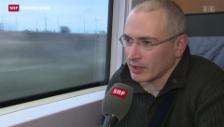 Video «Chodorkowski ist in der Schweiz» abspielen