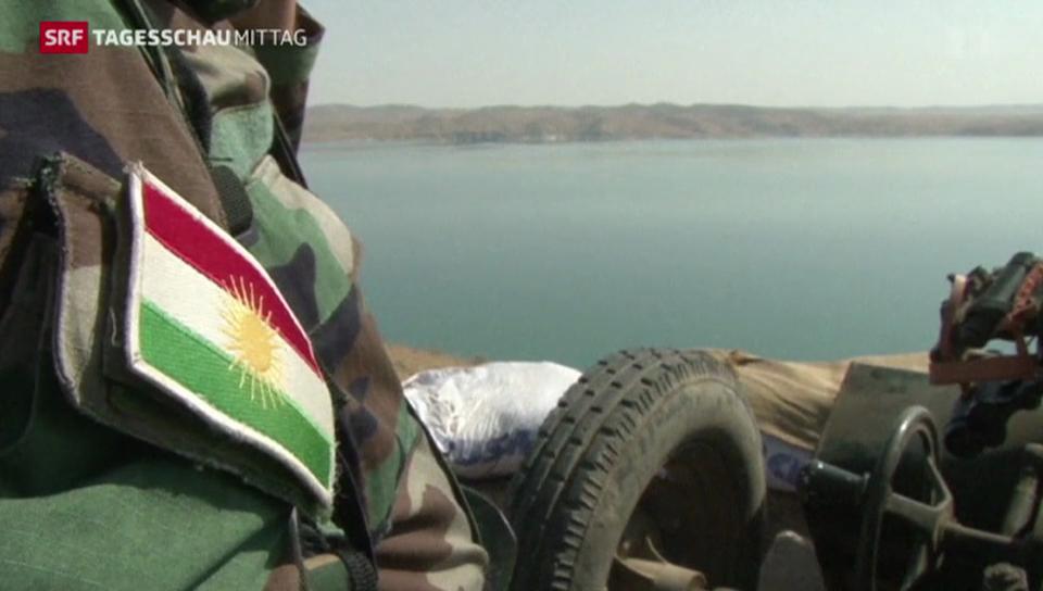 Kurden erobern Staudamm zurück