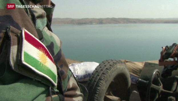 Video «Kurden erobern Staudamm zurück» abspielen
