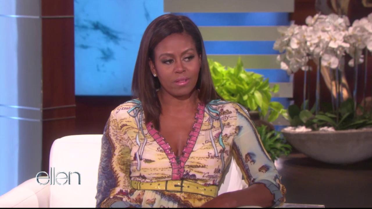 Im Weissen Haus: Michelle Obama