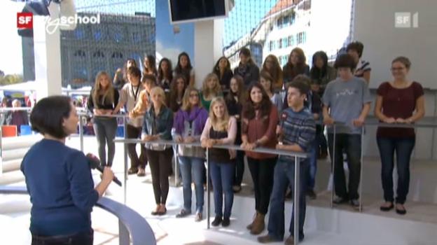 Video «Treffpunkt Bundesplatz: Live-Interview (10/11)» abspielen