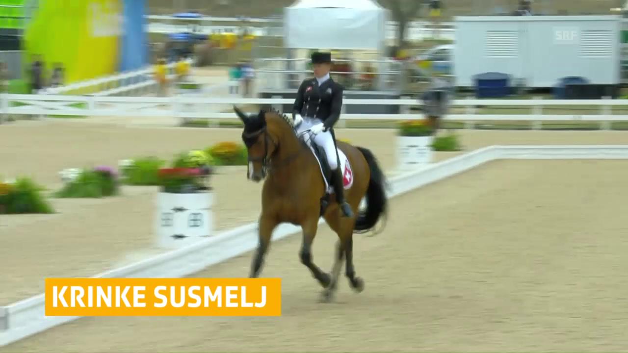 Krinke Susmelj überzeugt auch bei ihrem 2. Auftritt