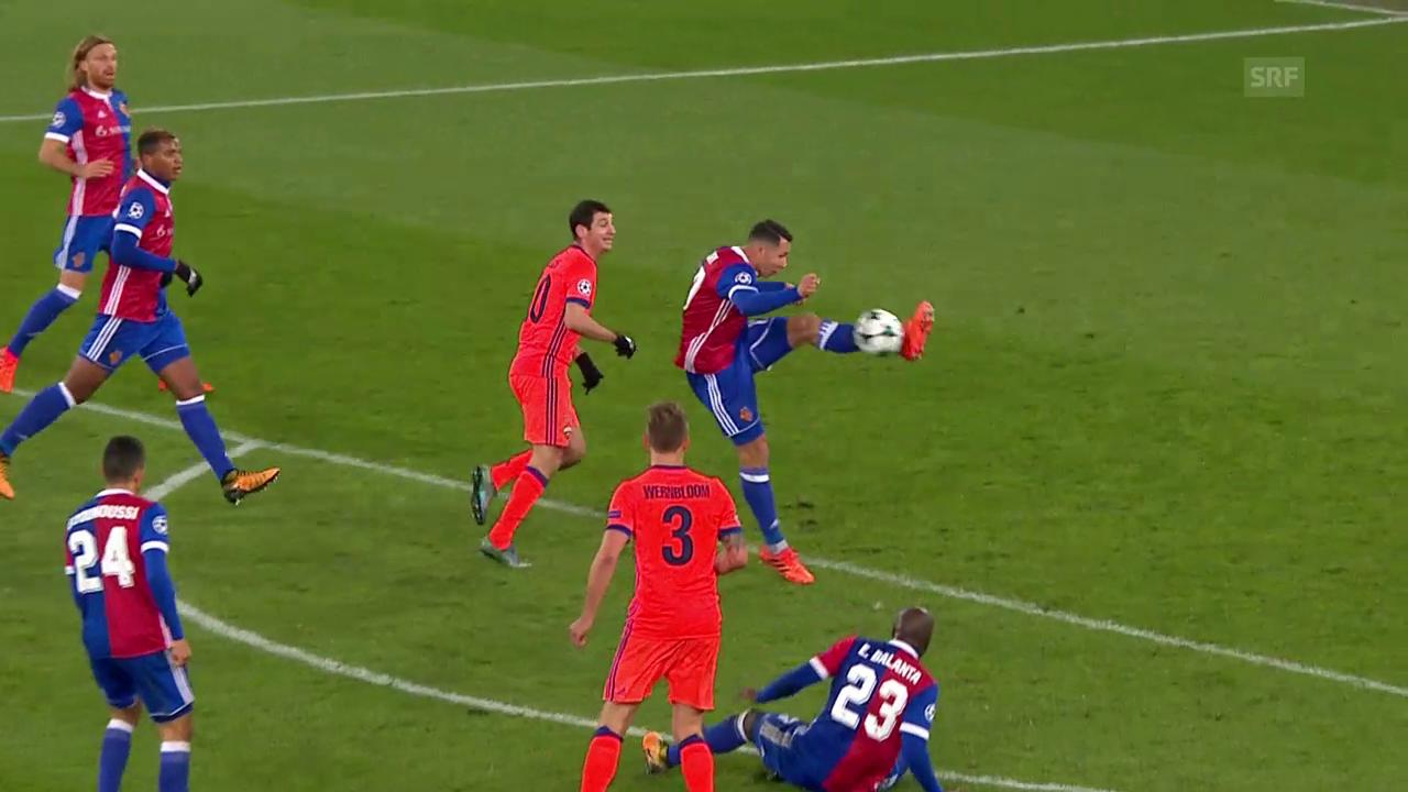 Basel gibt das Spiel gegen ZSKA aus der Hand