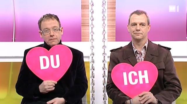 «Ich oder Du» mit Erich Vock und Hubert Spiess
